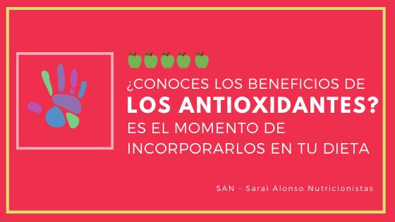Antioxidantes naturales ¿dónde?