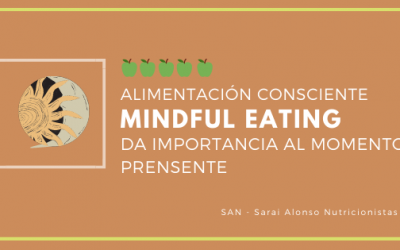 Alimentación consciente (Mindful Eating) en 3 pasos