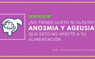 ¿La falta de olfato (anosmia) y gusto (ageusia) te impide comer bien?