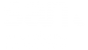 Logo negativo SAN nutricionistas online